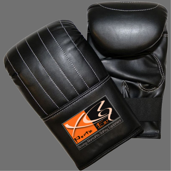 Bag Mitts-XG 18 Bag Mitts made of Cowhide Leather. Inside Underlay foam, Cuff with Elastic closing.